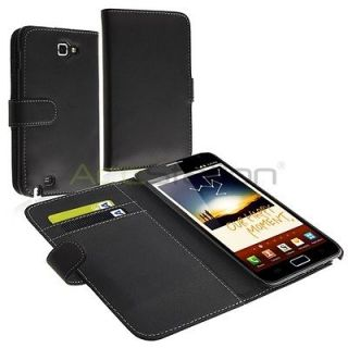 HARD CASE COVER WALLET FOR Samsung Galaxy Note LTE SGH i717 AT&T