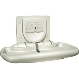 Surface Mounting High Density Polyethylene Baby Changing Station 9012
