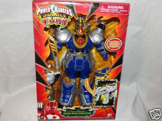 NEW IN BOX POWER RANGERS JUNGLE FURY TRANSFORMING RHINO STEEL MEGAZORD