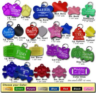 Supplies  Dog Supplies  Collars & Tags  Name Tags & Charms