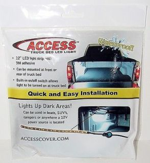 Access Truck Bed Light 70380 12 LED Strip w/ On/Off Switch Boats/SUV