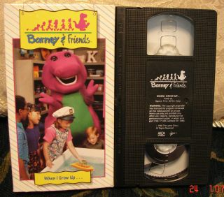 barney friend video in VHS Tapes