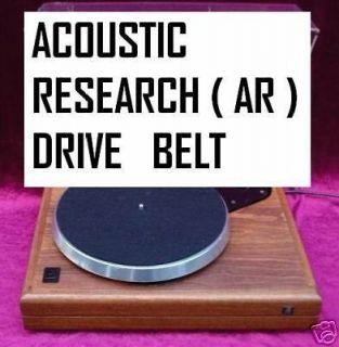 ACOUSTIC RESEARCH ( AR ) EB101 / LEGEND TURNTABLE DRIVE BELT