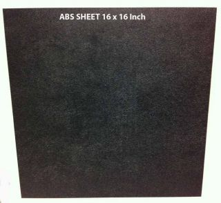 ABS Black Plastic Sheet   Customized Car Speakers Adapter   16x16
