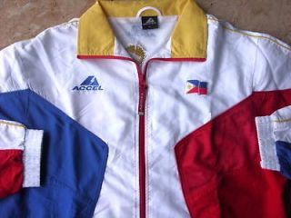 PHILIPPINES FLAG JACKET LIMITED ED ACCEL NEW W/ TAG S