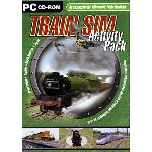 Train Sim Activity Pack ( PC GAME ) NEW expansion for microsoft train