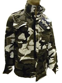 Alpha Industries M65 M 65 Field Jacket Coat Urban Camoflauge