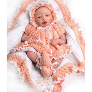 Ashton Drake So Truly Real Baby Doll Warm Heart Artist Sheila Michael