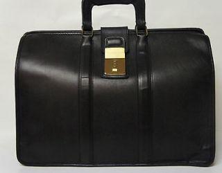 Vintage COACH Genuine Doctor Lawyer Gladstone Portfolio Briefcase Bag