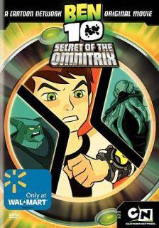 Ben 10 Secret of the Omnitrix (DVD, 2008)