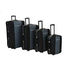 Rockland Polo Equipment 4 Piece Expandable Luggage Set
