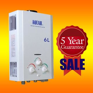 AQUAH ON DEMAND PROPANE LPG TANKLESS GAS WATER HEATER UP TO 2.0 GPM