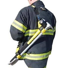 BRAND NEW FIRE HOOKS UNLIMITED FIREFIGHTER SHOULDER STRAP SYSTEM FOR