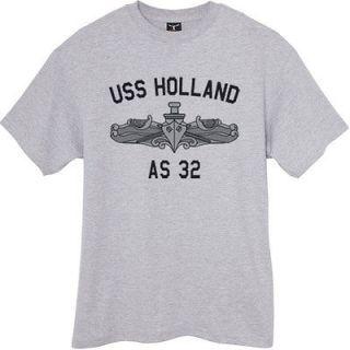 US USN Navy USS Holland AS 32 Submarine Tender T Shirt