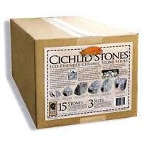 Cichlid Stones/Rock Cave Ceramic Aquarium Small/Medium/Large 15 pack