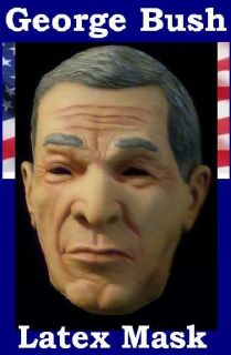 George W Bush USA American President Fancy Dress Mask