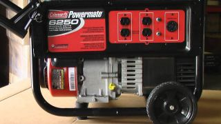 Electric Generator Coleman Powermate 6250 .