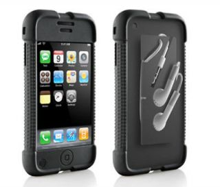 BLACK DLO JAM JACKET SILICONE CASE APPLE IPHONE 2G 3G S