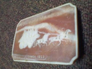wells fargo and company since 1852 stagecoach horses buggy belt buckle