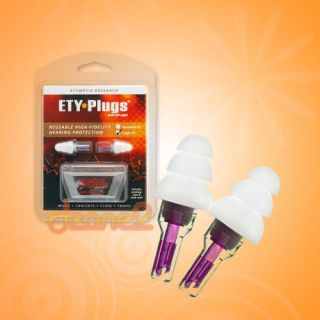 Etymotic Research ER 20 PSC Ety Plugs High Fidelity Earplugs ER20 PSC