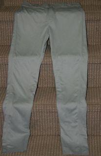Martin Mens Heavy weight Ankle Length Baseball Pants   Gray