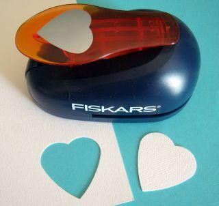 Fiskars HEART XL Lever Paper Punch Scrapbooking   Extra Large Heart