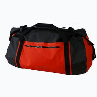 Hefty Maxxon 90L Waterproof Duffel Dry Bag/Backpack Combo in Red   16