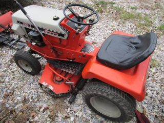 Simplicity Landlord 3310 H Hydrostatic Vintage Tractor, Mower and