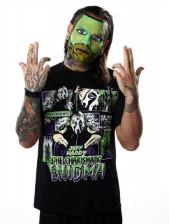 Official TNA Impact Wrestling Jeff Hardy Comic Strip T Shirt