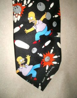 The Simpsons Neck Tie Homer Simpson & Marge Simpson Tie Homer Kiss The