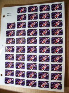 Cherry Coke Soda Machine/Fountain Labels 48 labels 1.25 x 0.75 MSA