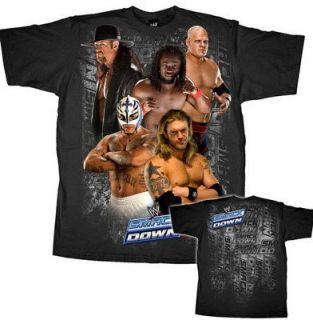Edge Rey Mysterio Kofi Kingston Smackdown WWE T shirt