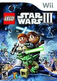 LEGO Star Wars III 3  The Clone Wars (Nintendo Wii) EA Lucas Arts