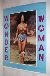Lynda Carter Wonder Woman Poster TV Superhero Vintage