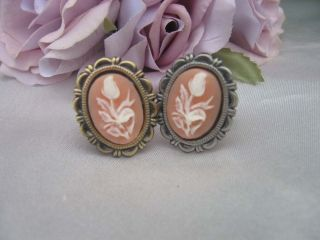 CAMEO RING GOLD, ANTIQUE SILVER, ANTIQUE GOLD 5 COLORS OF CAMEOS
