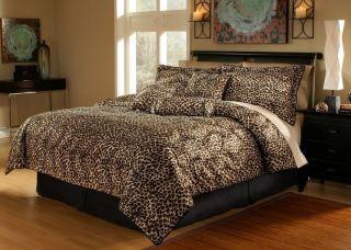 leopard print comforter in Comforters & Sets