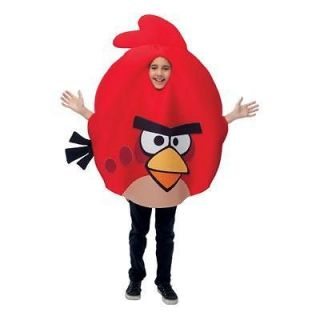 Childrens Angry Birds Red Bird Costume   One Size   Licensed