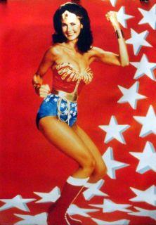 Wonder Woman 24x34 Red Poster Lynda Carter