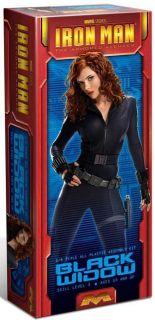 Moebius Marvel Studios BLACK WIDOW model kit from the Iron Man Movie