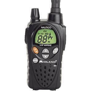 MIDLAND NT3VP HANDHELD VHF 5 WATT WATERPROOF MARINE BOAT RADIO 12 MILE