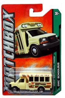 2012 Matchbox #120 MBX National Park GMC School Bus