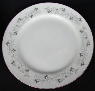 MOON MIST FINE CHINA JAPAN LUNCHEON PLATE(S) GRAY RARE