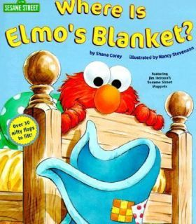 Where is Elmos Blanket? (Sesame Street) (Nifty Lift and Look) by