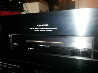 ONKYO 300 WATT Stereo Power Amplifier M5160 with low shipping