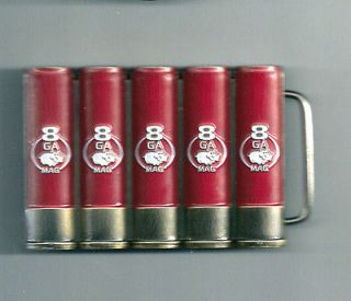 HALO 3 Shotgun Ammo Metal Belt Buckle  Heavy