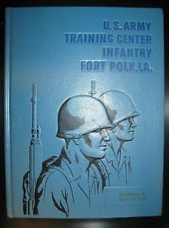 VIETNAM WAR FORT POLK LOUISIANA INFANTRY TRAINING CENTER BASIC