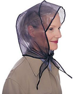ANDRE #701 RAIN DASHER RAIN BONNET W/VISOR,WATERP​ROOF (BEIGE)