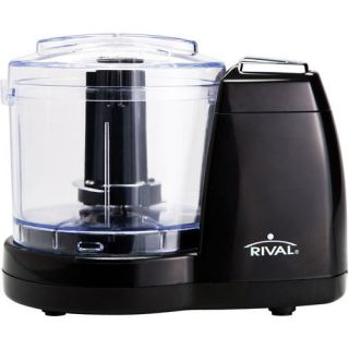 NEW Black Sunbeam Rival Mini Chopper Food Processor 1½ Cup MC 67BL w