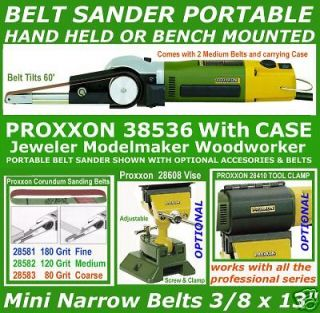 BELT SANDER Proxxon 38536 Portable Mini Hand Held BSL