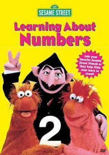 sesame street learning about numbers in VHS Tapes